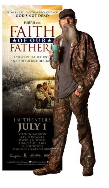 Si Robertson stars Faith of Our Fathers