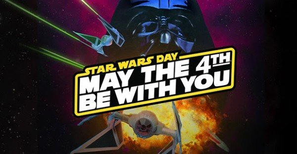 Star Wars Day 2015 ISS NASA