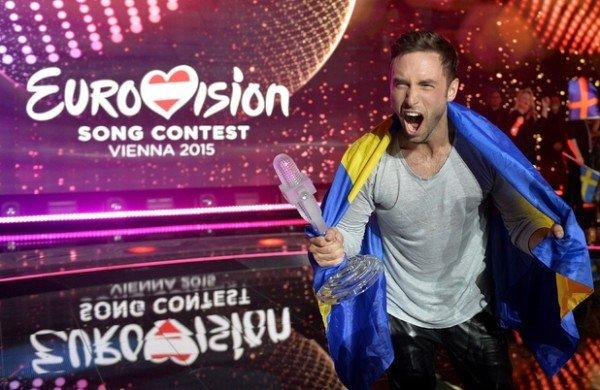 Sweden's Mans Zelmerlow  wins Eurovision 2015