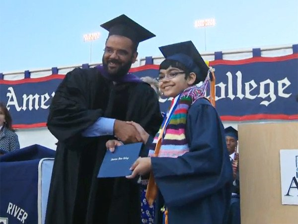 Tanishq Abraham graduates college at 11