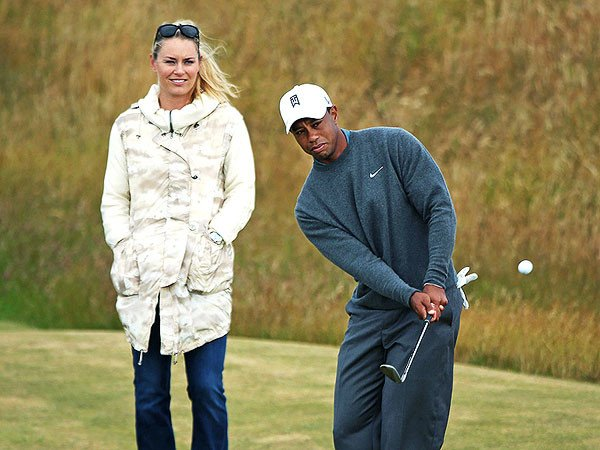 Tiger Woods and Lindsey Vonn split up