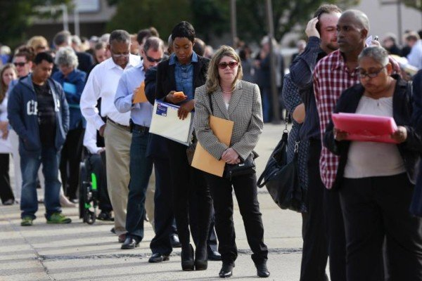 US jobs report April 2015