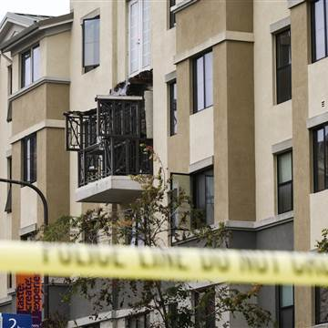 Berkeley balcony collapse University of California campus