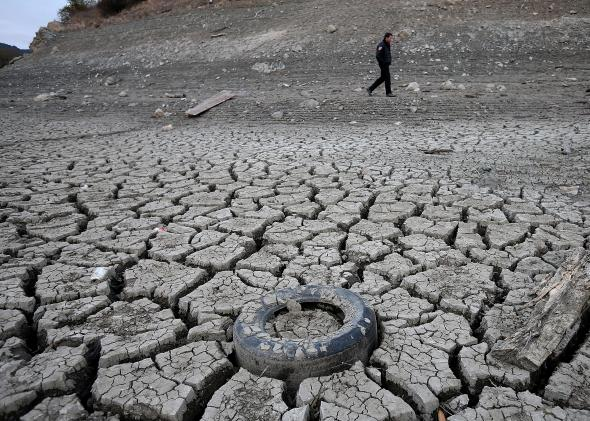 California drought 2015 record water cuts