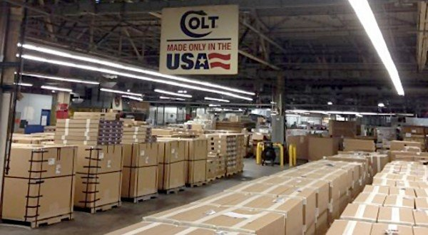 Colt files for bankruptcy