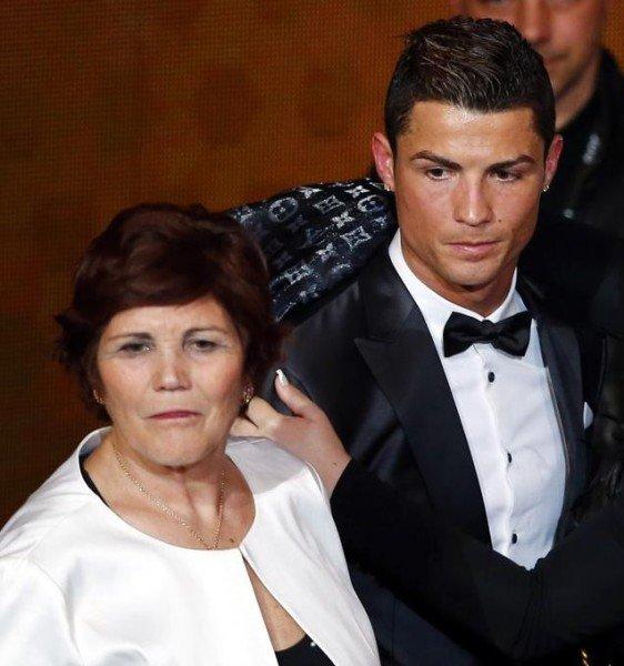 Cristiano Ronaldo mom Dolores Aveiro