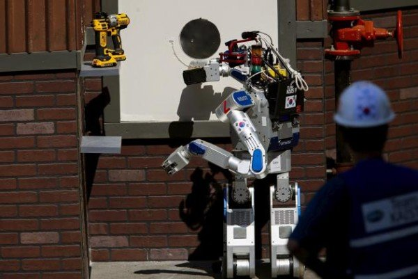 DRC Hubo humanoid robot South Korea