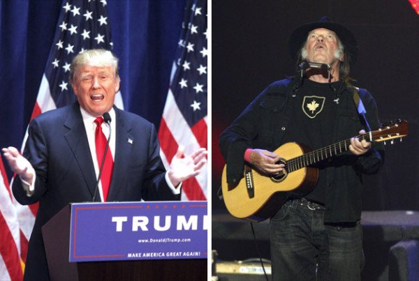 Donald Trump 2016 Neil Young song