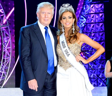 Donald Trump Miss USA Pageant Univision