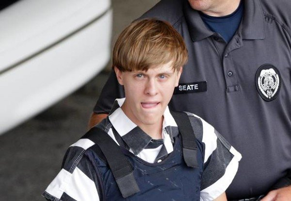 Dylann Roof charged with murder for Charleston church shooting