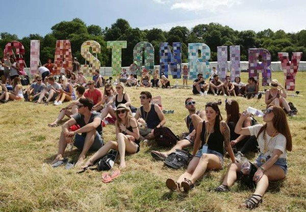 Glastonbury 2015 first day