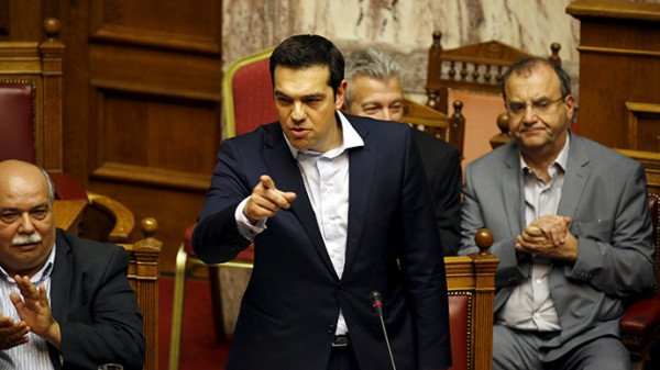Greece parliament backs bailout referendum