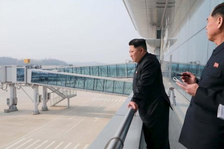 Kim Jong un North Korea new airport