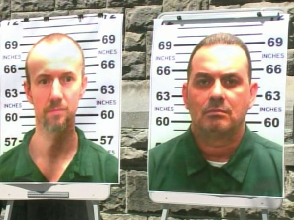 New York prison escapees David Sweat and Richard Matt