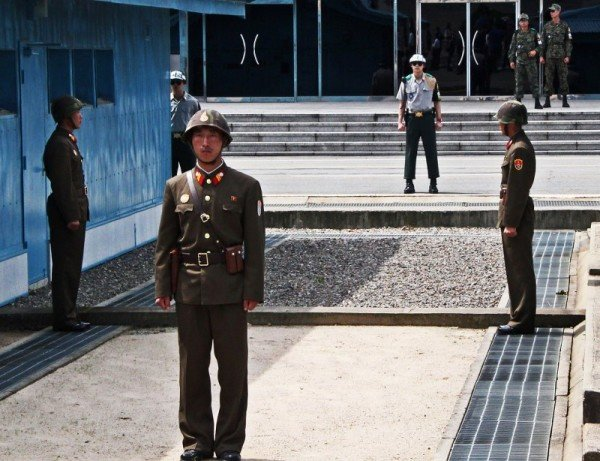 North Korea soldier DMZ