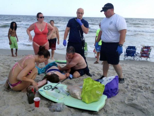 Oak Island shark attacks 2015