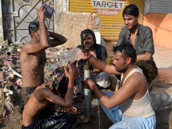 Pakistan heat wave 2015