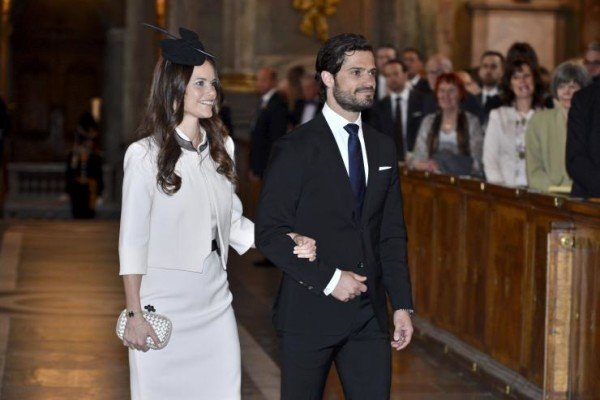 Prince Carl Philip of Sweden marries Soffia Hellqvist