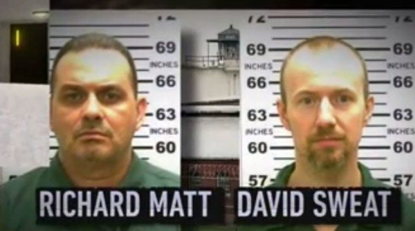 Richard Matt and David Sweat New York jailbreak