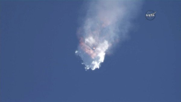 SpaceX Falcon 9 explosion June 2015