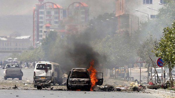 Taliban bomb attack Afghanistan parliament