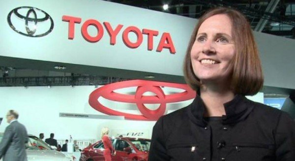 Toyota executive Julie Hamp arrested