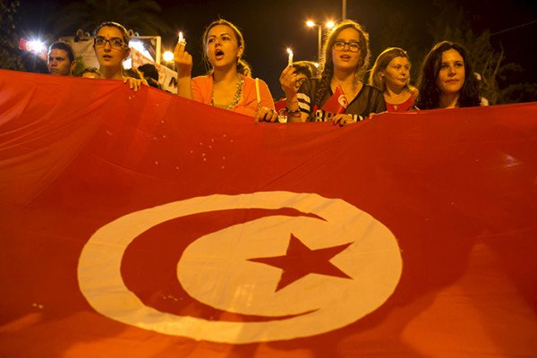 Tunisia attack Sousse protest