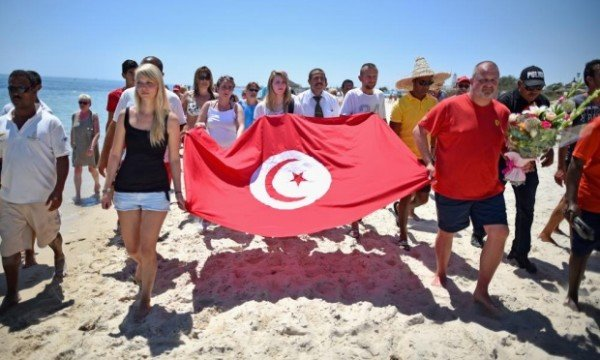 Tunisia beach attack Sousse