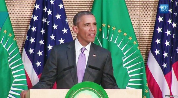 Barack Obama African Union speech