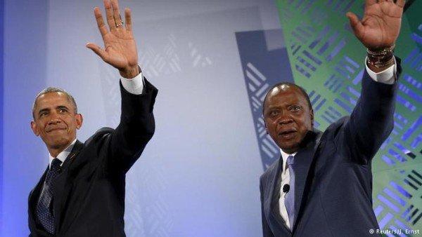 Barack Obama and Uhuru Kenyatta