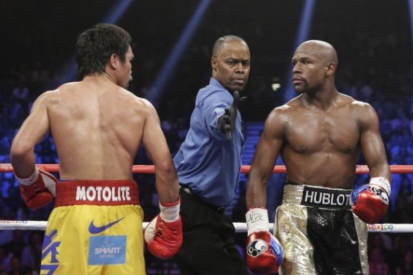 Floyd Mayweather Stripped of WBO Welterweight Belt Won from Manny Pacquiao