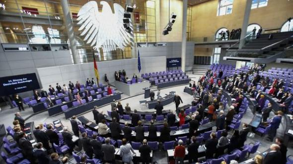 German Parliament votes on Greece bailout deal