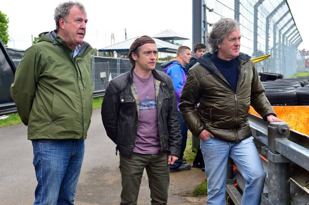 top gear jeremy clarkson richard hammond and james may to present amazon prime show. Black Bedroom Furniture Sets. Home Design Ideas