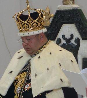 King Tupou VI of Tonga coronation 2015