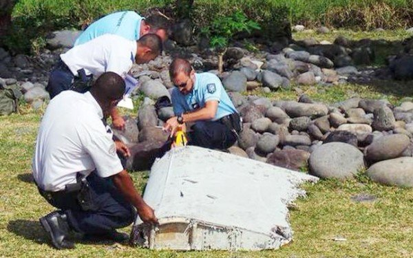 MH370 debris Reunion