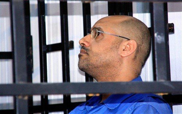 Muammar Gaddafi son Saif al Islam Gaddafi sentenced to death