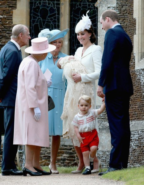 Princess Charlotte christening July 2015