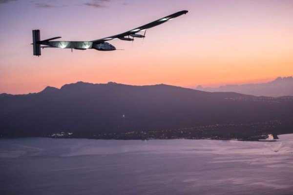 Solar Impulse 2 Pacific crossing