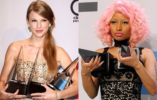 Taylor Swift and Nicki Minaj MTV VMA row
