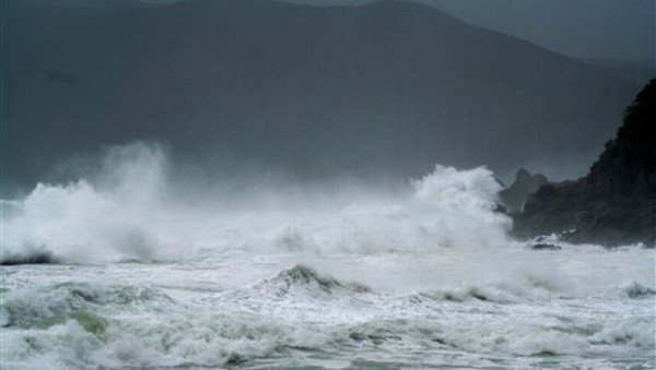 Typhoon Nangka Japan 2015