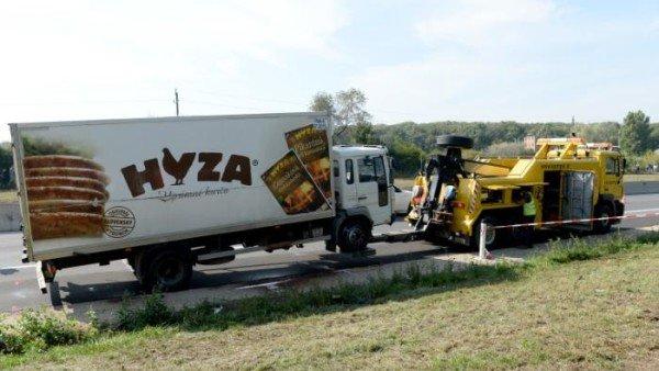 Austria migrant truck 2015