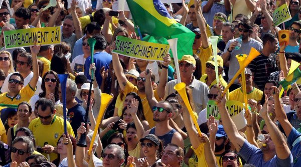 Brazil protests Dilma Rousseff impeachment
