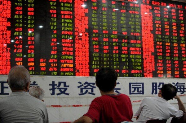 China stock market returns to positive trends