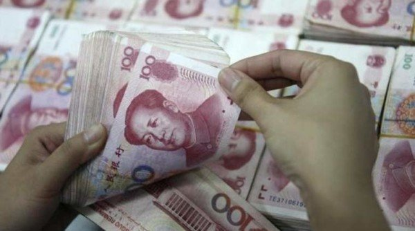 Chinese yuan record devaluation