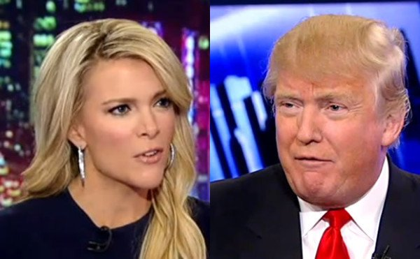 Donald Trump scandal with Megyn Kelly