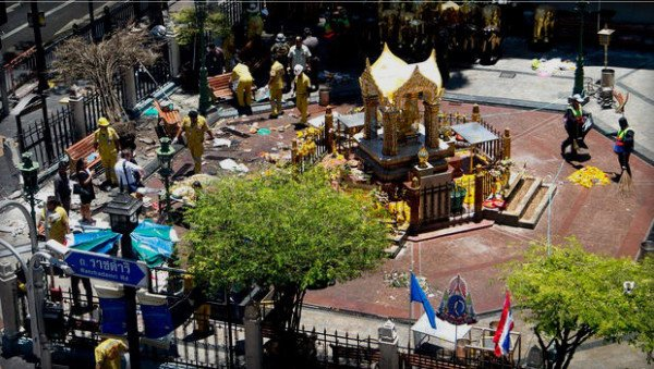 Erawan Shrine bomb attack 2015