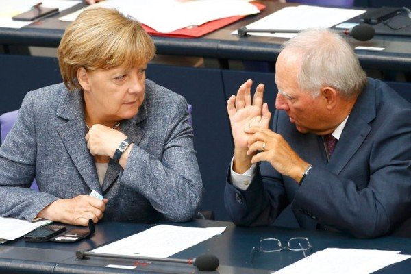 German parliament Greek bailout