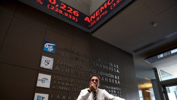 Greece Stock market reopens August 2015