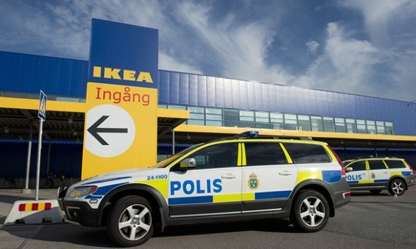 IKEA knife attack Vasteras