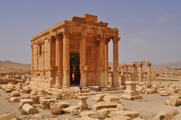ISIS destroyed Baalshamin temple in Palmyra